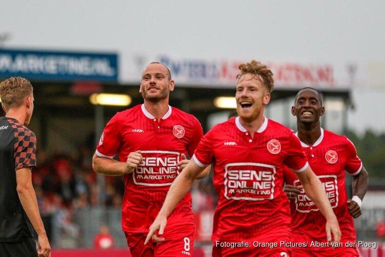 Almere City FC maakt het nog spannend, invalbeurt Verheydt beslissend