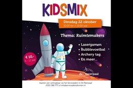 Kidsmix 2019 beweegt zich in de ruimte