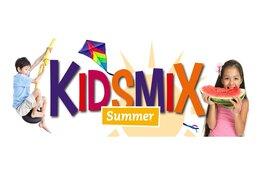Vier KidsmiX Summer in de zomervakantie!
