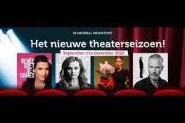 Nieuwe theaterprogramma De Meerpaal bekend gemaakt. Voorverkoop maandag 17 augustus 12.00 uur gestart!