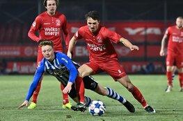 Almere City FC laat twee dure punten liggen